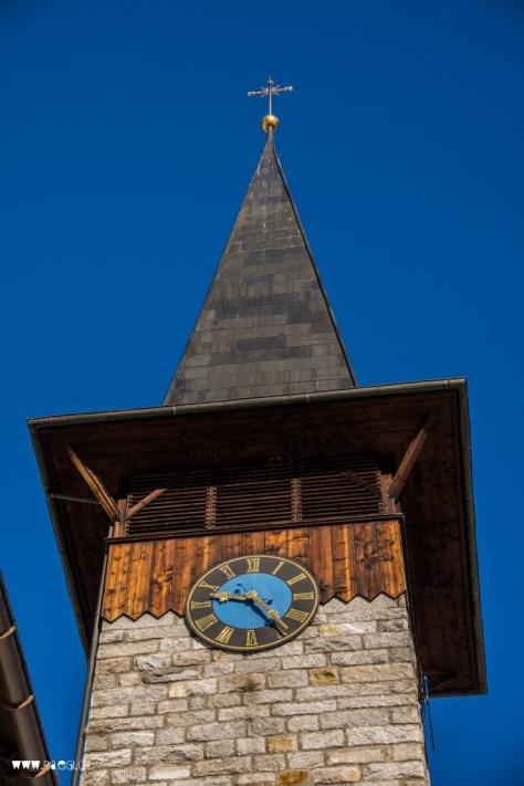 Kirchenturm Rueras