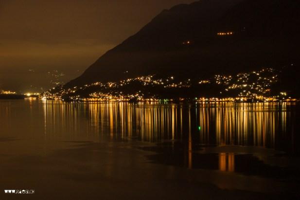 Lago Maggiore by night