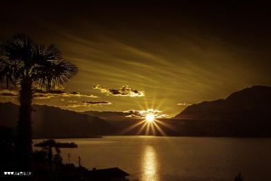Sunrise in Luino