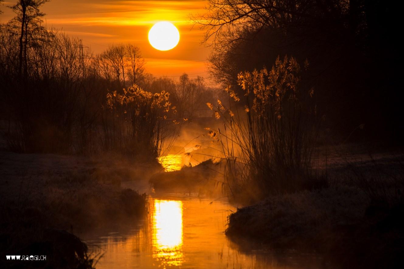 Sonnenaufgang am Furtbach