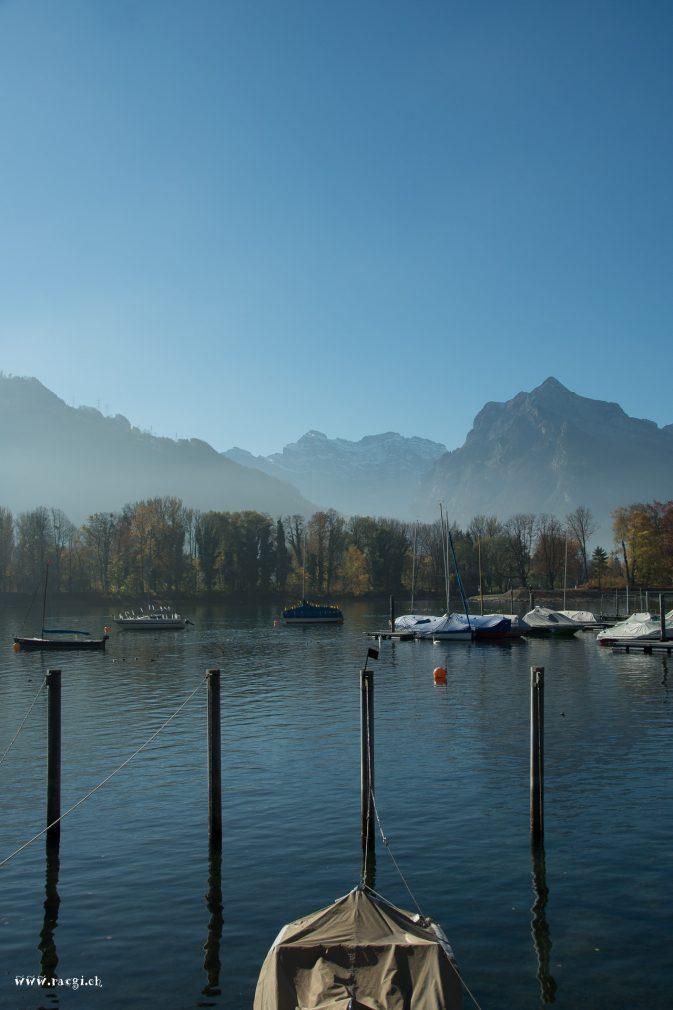 Blick auf die Glarner Alpen