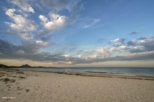 Strand beim Campingplatz Capo Ferrato
