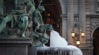 Alfred Escher Brunnen Zürich