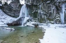 Frozen Waterfall
