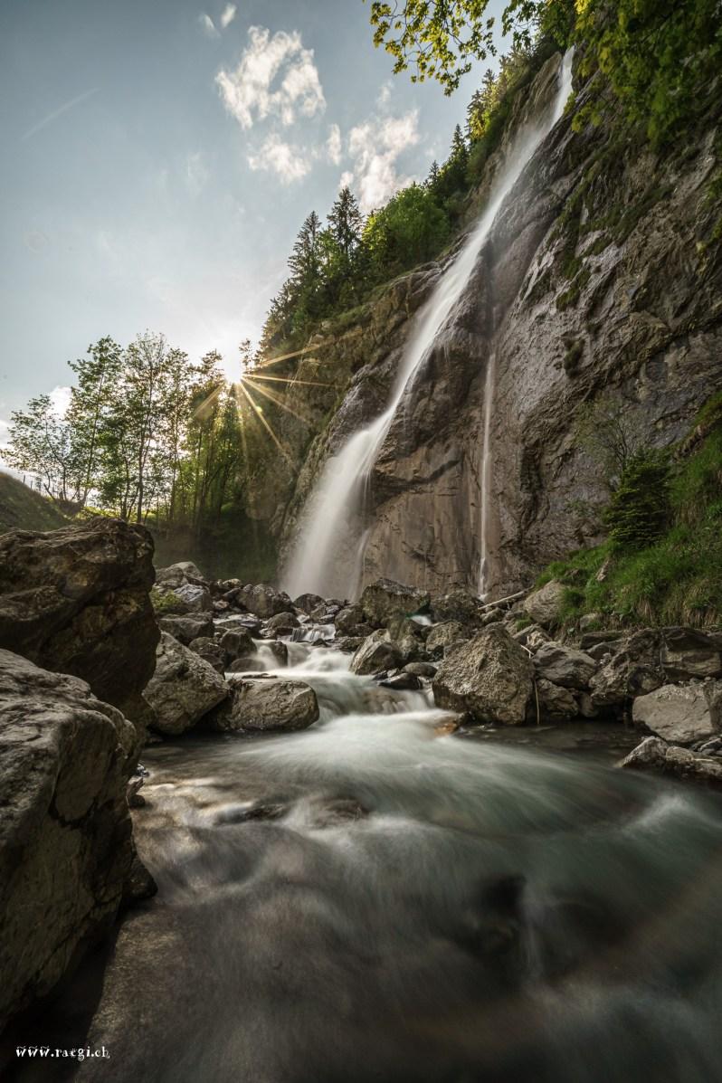 Sulzbachfall im Klöntal