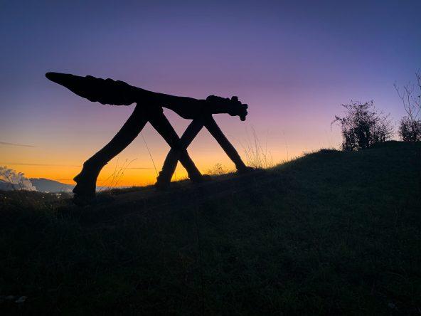 Winzi Statue von Bruno Weber