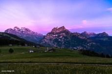 Morgenrot im Glarnerland