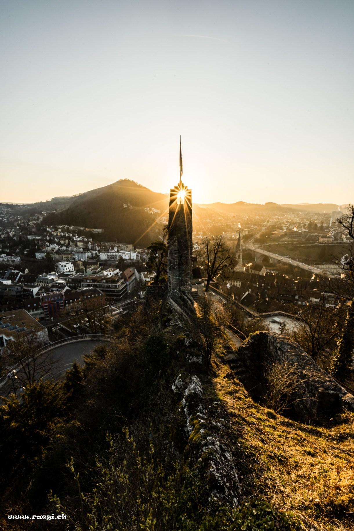 Schloss Stein zum Sonnenaufgang