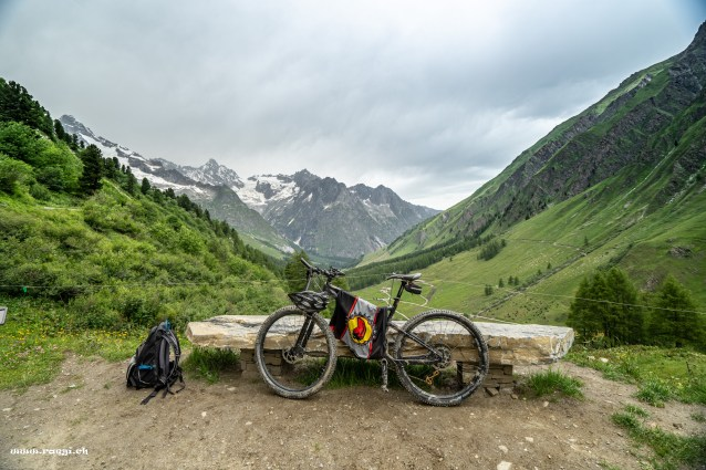 Biketour zur Alpage des Ars