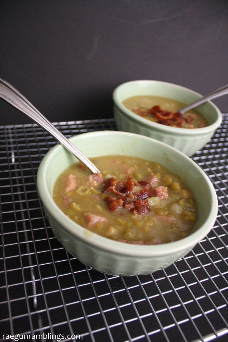 best split pea soup ever. Made it last night and will be making this yummy recipe again.