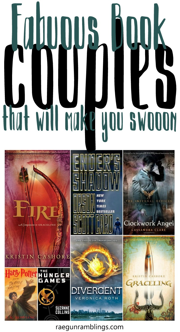These book couples aren't the typical instalove in YA and still make for awesome swoon worthy books