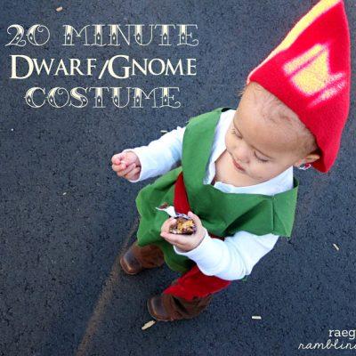 Handmade Halloween: 20 Minute Dwarf/ Gnome Costume Tutorial