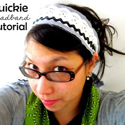 October Package Pals and A Headband Tutorial