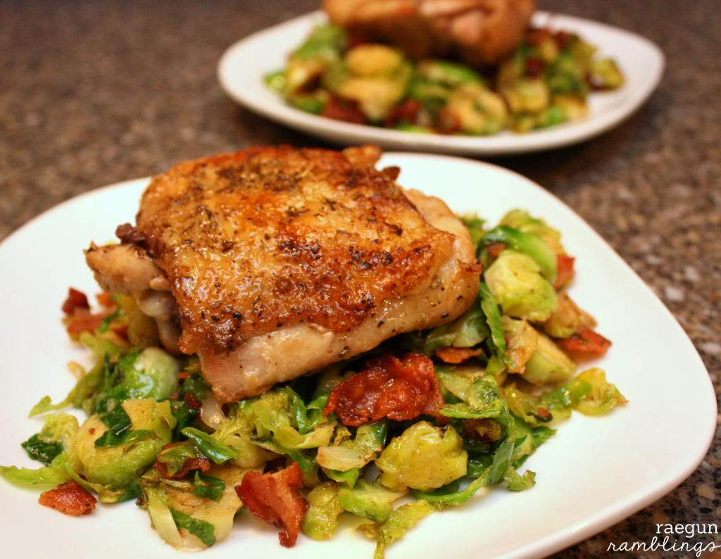 brussel sprouts with bacon