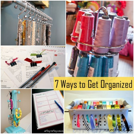 Ways to get organized with out spending a lot of money