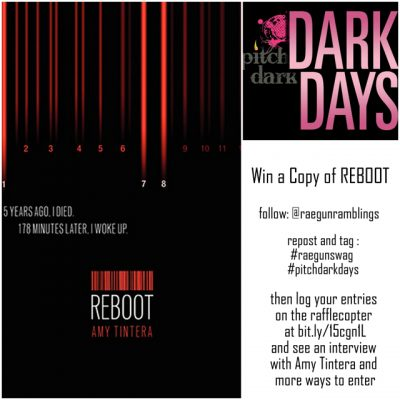 Reboot Author Interview and Book Giveaway