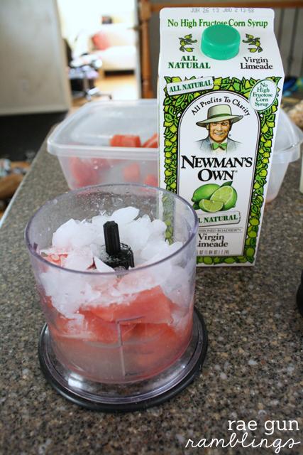 World's yummiest watermelon lime cooler recipe - Rae Gun Ramblings