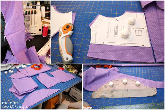 Costume tutorial for a Fancy Nancy Dress detailed instructions - Rae Gun Ramblings #halloween #tutorial #fancynancy