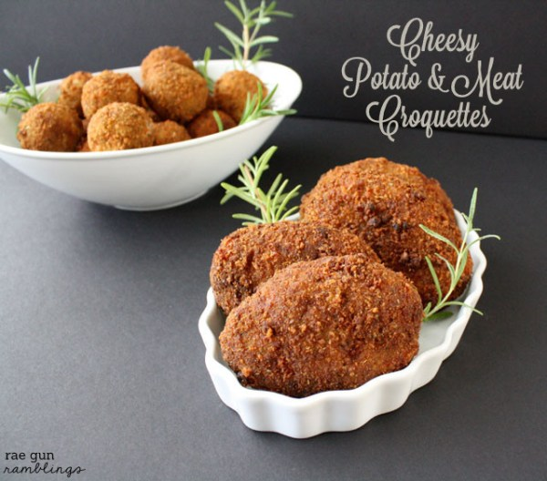 Cheesy Potato and Meat Croquettes Recipe with Kraft Fresh ...