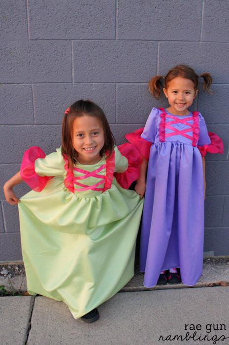 How to make a corset bodice on a girl's princess dress at Rae Gun Ramblings