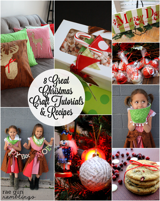 8 SImpe and easy Christmas crafts and recipes at Rae Gun Ramblings