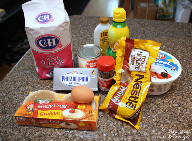 mini cheesecake ingredients and recipe - Rea Gun Ramblings