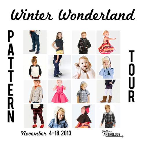 winter wonderland collection Pattern Anthoogy