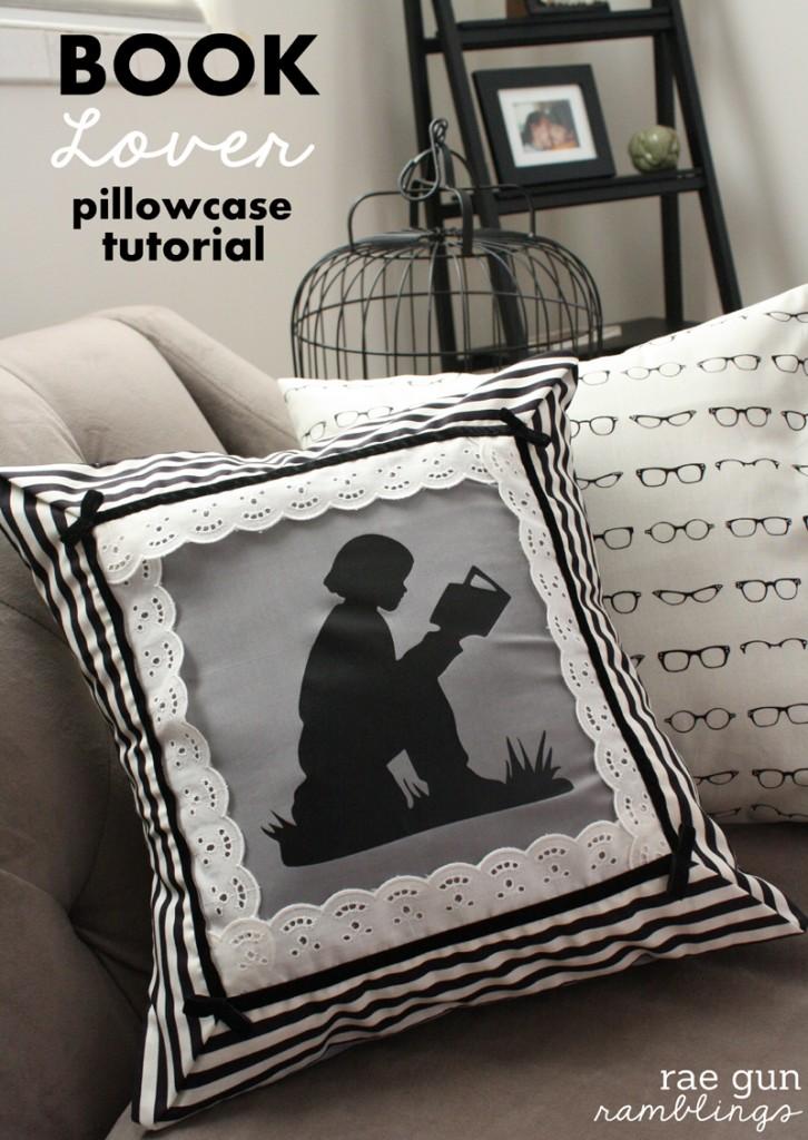 Book Lover Night Circus Pillowcase Tutorial - Rae Gun Ramblings
