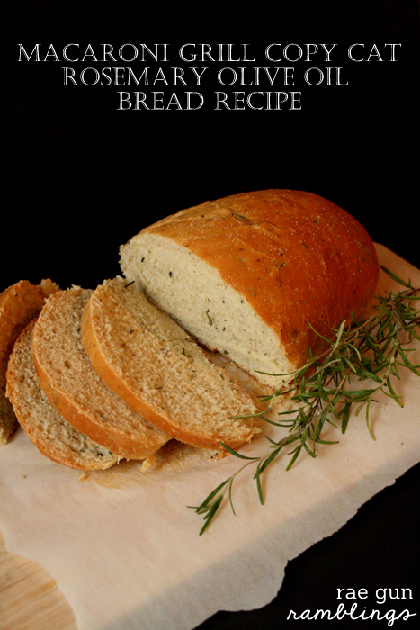 Macaroni Grill Copy Cat Bread Recipe - Rae Gun Ramblings #STAROliveOil #shop #cbias