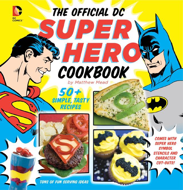 Super hero cookbook review at Rae Gun Ramblings