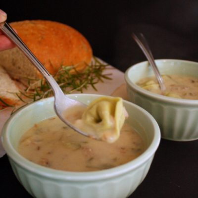 Turkey Tortellini Soup Recipe and What's For Dinner
