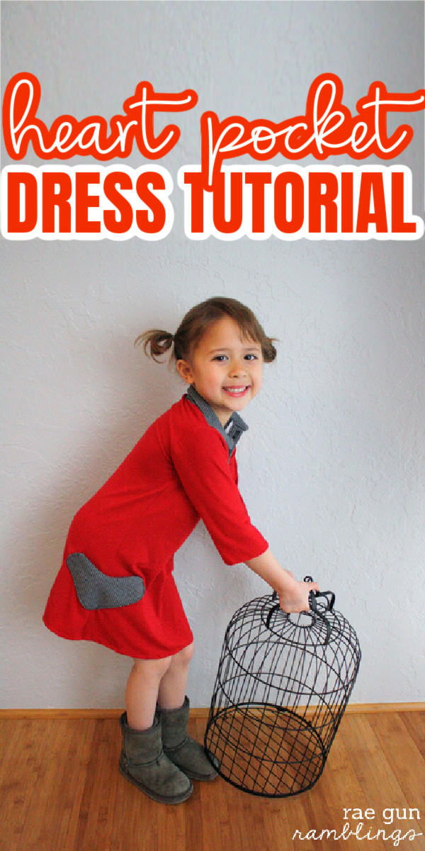 How to sew heart pockets darling little girl dress