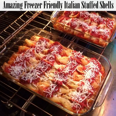 Freezer Friendly Italian Stuffed Shells Recipe