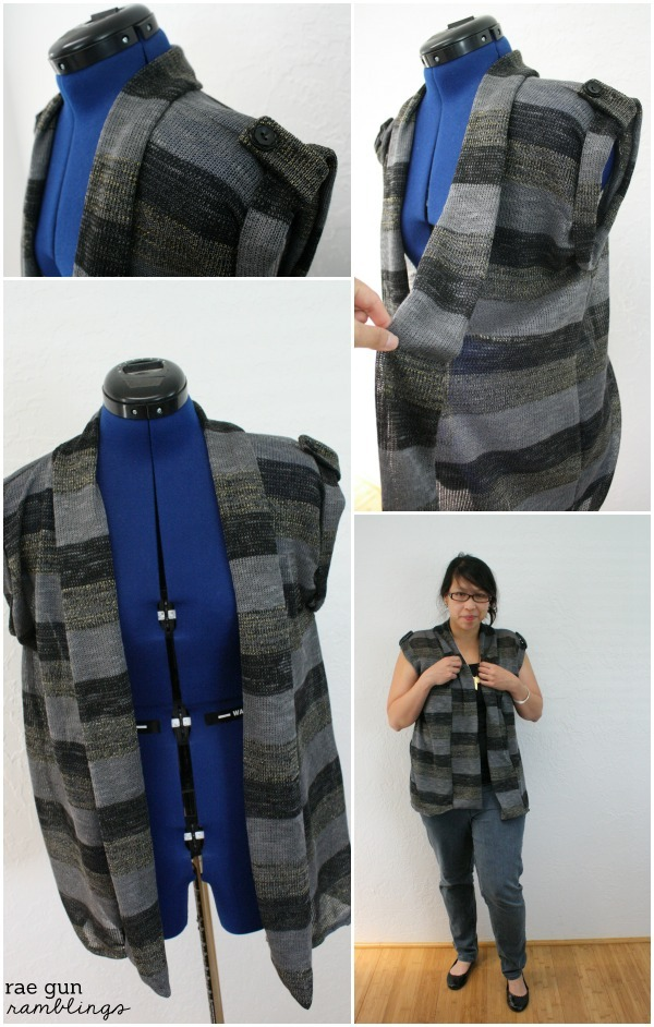 Great women's sewing project. Quick and easy Ojai wrap - Rae Gun Ramblings
