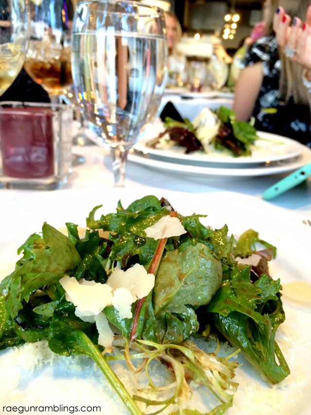 Delicious salad at Cucina Toscana Salt Lake City - Rae Gun Ramblings