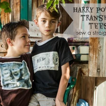 Boyish Harry Potter Tee tutorial
