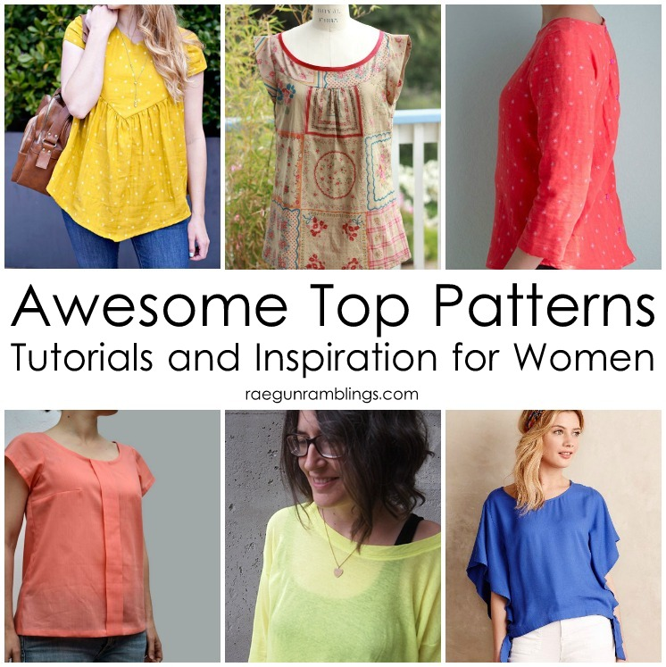 great top patterns to sew for women