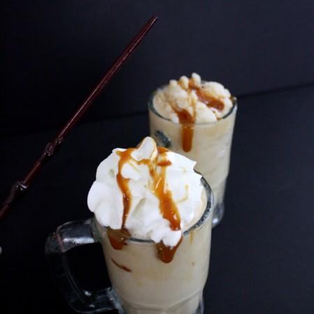 Accio Butterbeer. Frozen Butterbeer Recipe from Rae Gun Ramblings