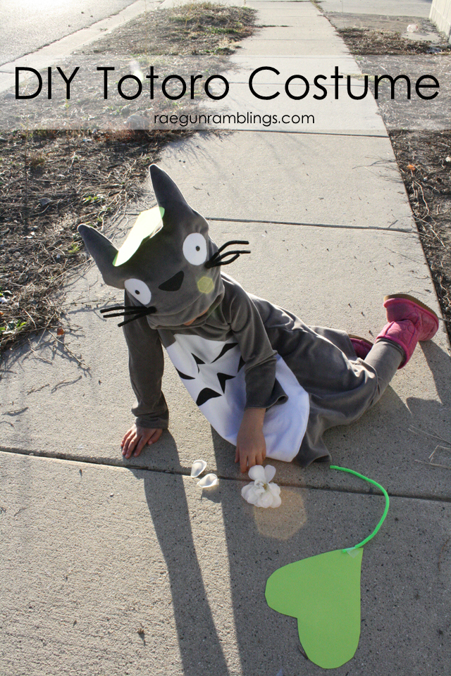 My Neighbor Totoro Costume Tutorial - Rae Gun Ramblings
