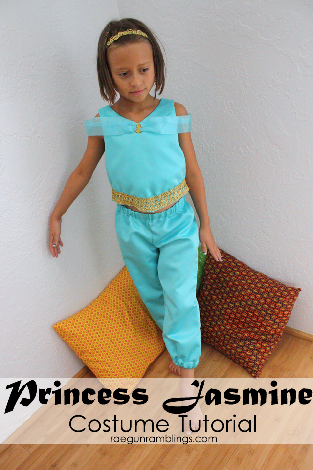 How to Make a Princess Jasmine Costume - Rae Gun Ramblings