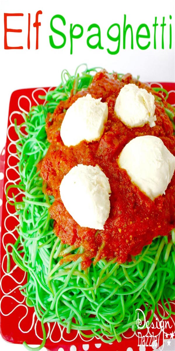 How to make Elf Spaghetti and tons of other awesome christmas projects