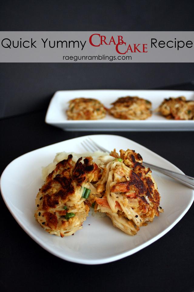 20 minute delicious crab cakes recipe - Rae Gun Ramblings
