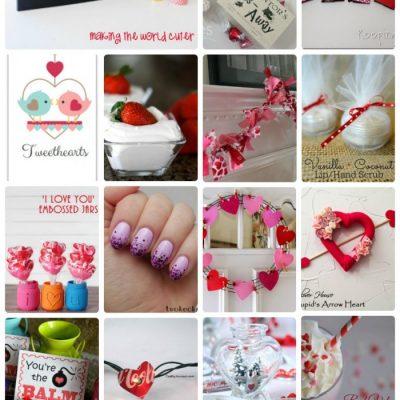 Valentine's Day Craft Tutorials and Treats