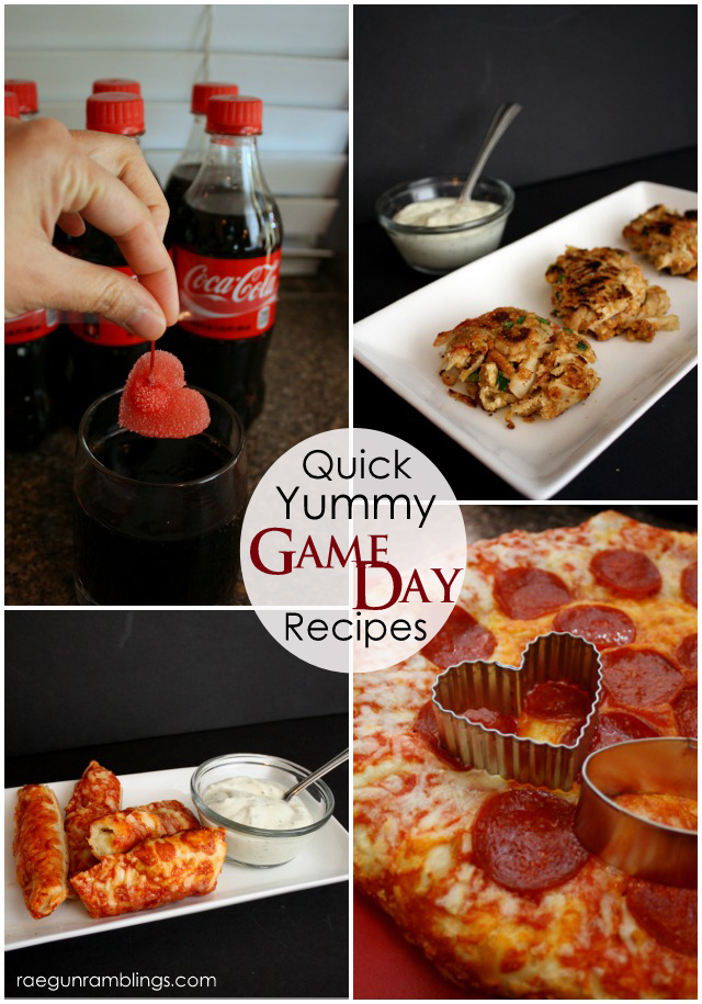 Super fast and easy ideas for your Game Day party - Rae Gun Ramblings