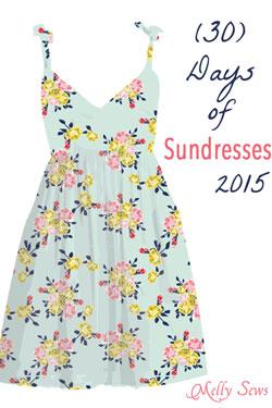 30 Days of Sundresses 2015 tons of sundress tutorials
