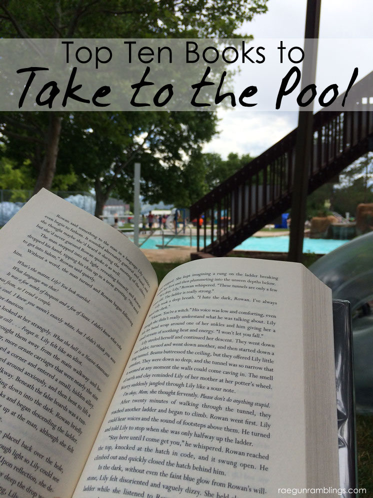 Great list of books to take to the pool Perfect for Summer reading.
