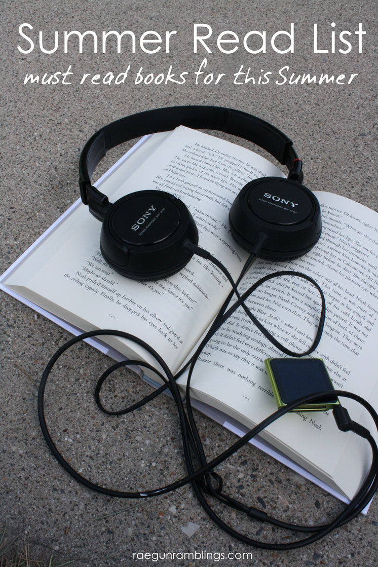 Summer reading list. These books all sound so good in different ways.
