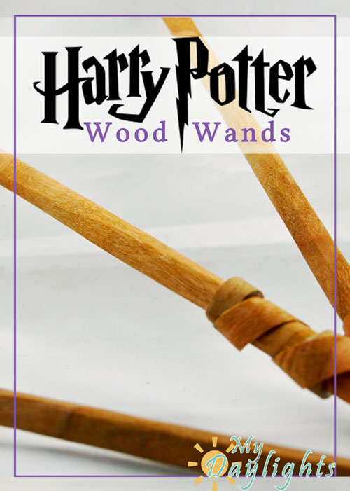 DIY feather filled Harry-Potter-Wands tutorial