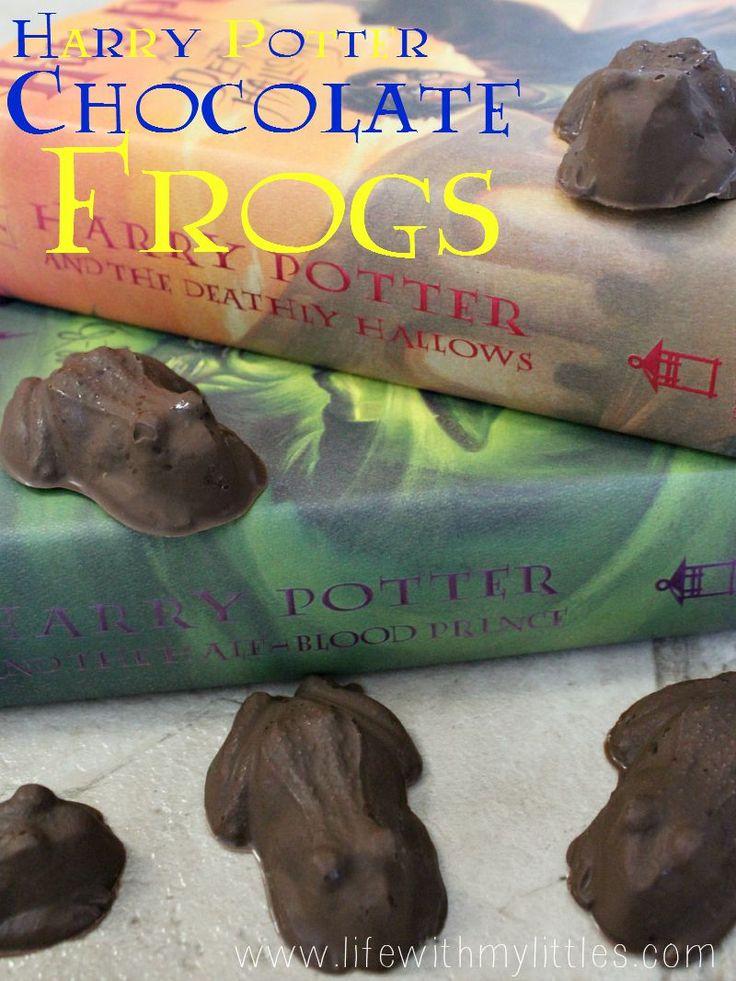DIY Harry Potter chocolate frogs recipe