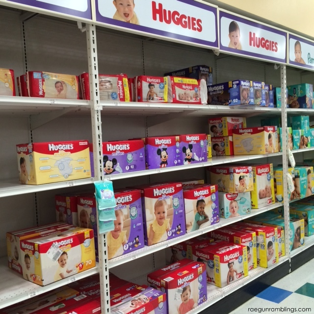 huggies little movers in store picture